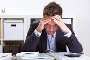 eher Männer in beruflichen Situationen bei Burnout